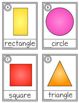 Shapes Write the Room Beginning of the Year Activities