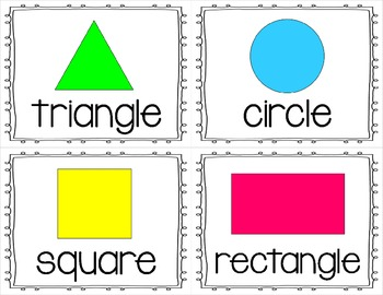 Shapes Write the Room FREEBIE!!! for 2D Shapes