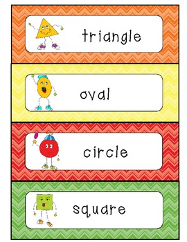 Shapes Writing Center