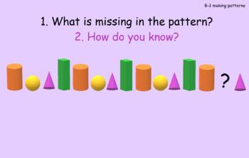 Shapes anchor tasks for Math in Focus/Singapore/Math Talks