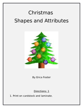 Shapes and Attributes/ 2-D figures and 3-D figures/Fractions