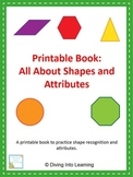 Shapes and Attributes: A Printable Book