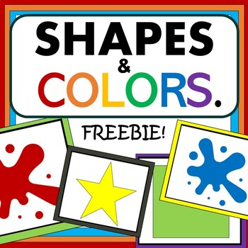 Shapes and Colors: FREE RESOURCE!