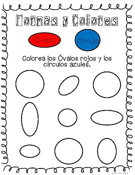 Shapes and Colors/Formas y Colores