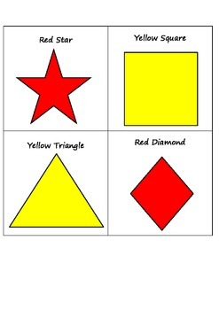 Shapes and Colors Game