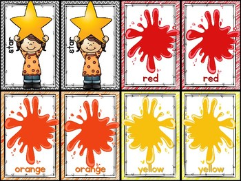 Shapes and Colors Matching Game