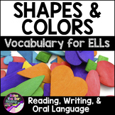 Shapes and Colors Vocabulary Activities for Beginning ELLs