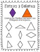 Shapes and Colors Worksheets - Spanish and English