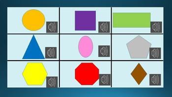 Shapes (and Colours) X and O Game
