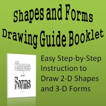 Shapes and Forms Drawing Guide Booklet