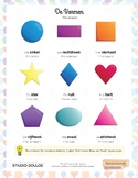Shapes and Forms Dutch Language Poster