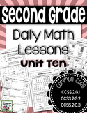 Shapes and Fractions - Daily Math Lessons - Unit 10