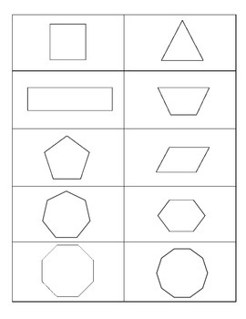 Shapes and Ladders
