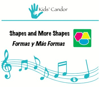 Shapes and More Shapes   Formas y Más Formas CD Bilingual Music