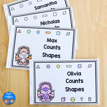 Shapes and Numbers Emergent Readers