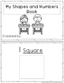 Shapes and Numbers Tracing Booklet