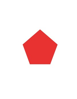 Shapes and Numbers for Special Children: Red on White, 11-20
