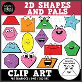 Shapes and Pals Clip Art
