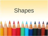 Shapes and Patterns Kindergarten Power Point Pre-K
