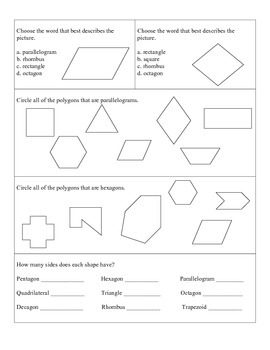 Shapes and Polygons