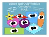 Shapes and Quantitative Concepts Book