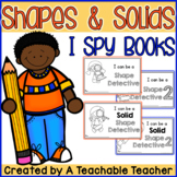 Shapes and Solids I Spy Books {Common Core Aligned}