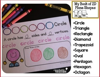 Shapes and Solids Activity Books