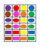 Colors and Shapes Slap game