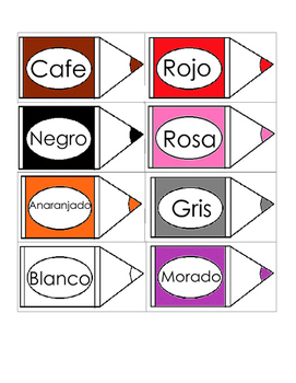 Shapes and colors minicards