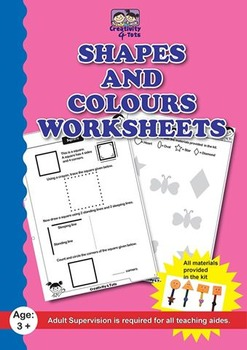 Shapes and colours worksheet
