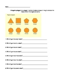 Shapes and sizes (polygons)