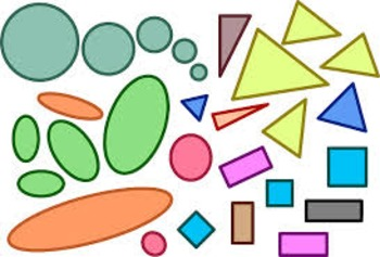 Shapes - basic, 2D and 3D