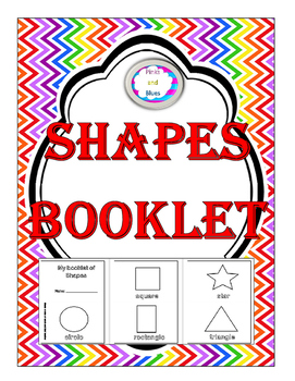 Shapes booklet Coloring Version