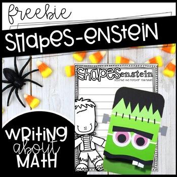 Shapes-enstein Craftivity! Shapes and Frankenstein Fun!