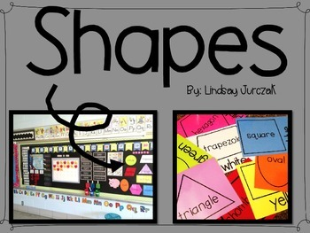 Shapes for Math Focus Wall
