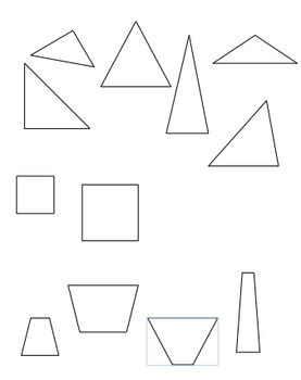 Shapes for Sorting