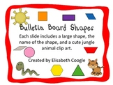Shapes for the Bulletin Board