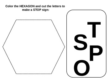 Shapes for tracing and other activities
