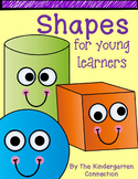 Shapes for young learners - A Kindergarten Shape pack!