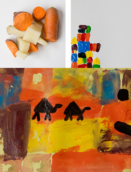 Shapes in Art - Paul Klee, Tangrams and more