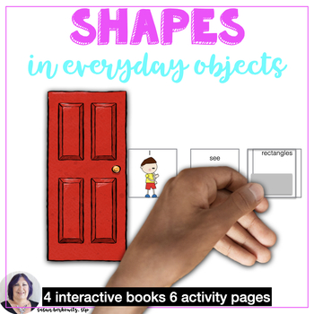 Shapes in Everyday Objects Interactive Books and Activities