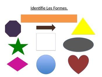Shapes in French ~ Les Formes Françaises