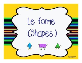 Shapes in Italian-PP