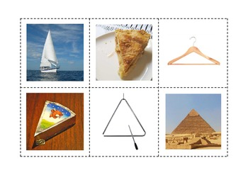 Shapes in Real Life - Matching Activity