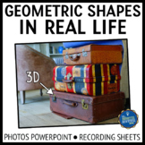 2D and 3D Shapes in Real Life PPT
