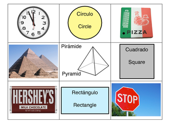 Shapes in the Environment Matching Spanish Bilingual