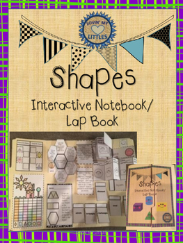 Shapes interactive notebook or lap book