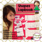 Shapes lapbook for pre-schoolers