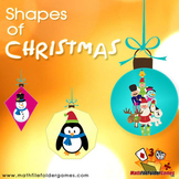 Shapes of  Christmas {Math Clipart}