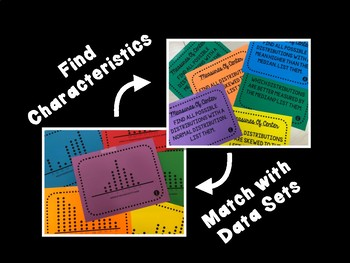 Shapes of Distributions and Measures of Center Scavenger Hunt and Presentation